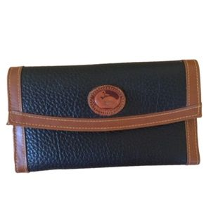 DOONEY & BOURKE Black & Brown Leather Wallet